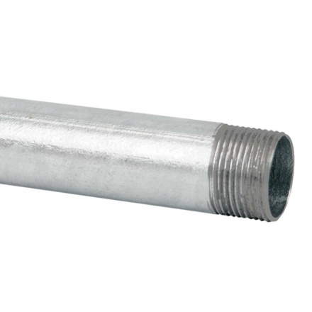 6063 ZN F - ocelová trubka závitová žárově zinkovaná (EN)