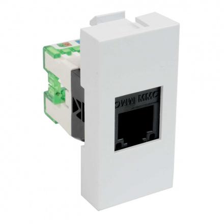 QD 45X22.5-RJ-12 HB - zásuvkový modul QUADRO - zásuvka datová s koncovkou RJ-12