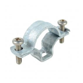 5216E ZN F - příchytka OMEGA pro ocelové trubky EN