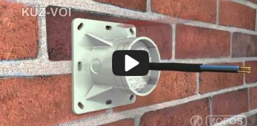 Embedded thumbnail for Installation instruction universal box KUZ-VOI into thermal insulation with an opening lid