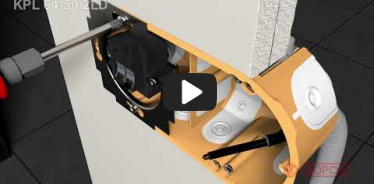 Embedded thumbnail for Installation instruction wiring box for hollow wall KPL 64-50/2LD