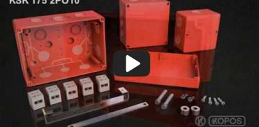 Embedded thumbnail for ინსტალაციის ინსტრუქციის ყუთი შენარჩუნებული ფუნქციონირებით ცეცხლი KSK 175 PO