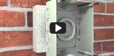 Embedded thumbnail for Installation instruction universal box KUZ-VI into thermal insulation with a lid