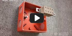 Embedded thumbnail for ცეცხლგამძლე ყუთის KSK 100 PO დაყენების ინსტრუქცია