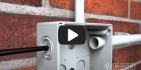 Embedded thumbnail for KSK IP 66 ყუთს ინსტალაციის ინსტრუქცია